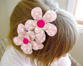 Double Jumbo Dottie Daisy Paper Mache Headband