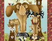 Clearwater Critters - Henry Glass Fabric - 1 panel - More Available
