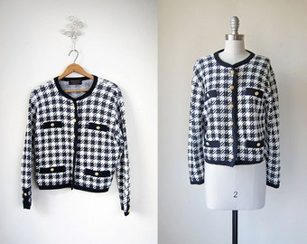 Houndstooth Jacket/ Brooks Brothers/ In Queue