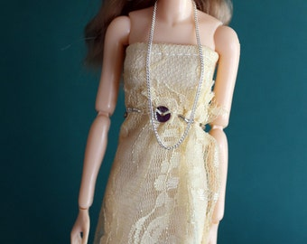 SALE: Momoko Lace Dress - Fits Many Other Dolls