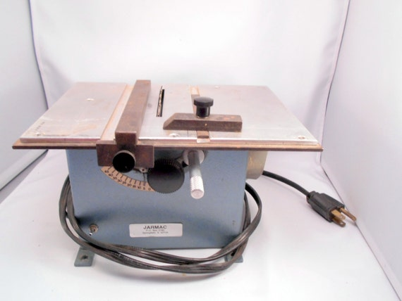 Electric Hobby Table Saw Jarmac Miniature Craft Used