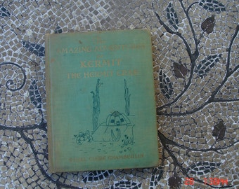 The Amazing Adventures of Kermit The Hermit Crab by Ethel Clere Chamberlin - Rare
