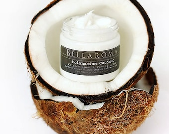 Polynesian Coconut- Hand + Facial WHIPPED CREME