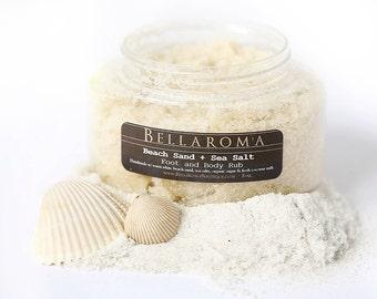 Beach Sand + Sea Salt FOOT and BODY RUB