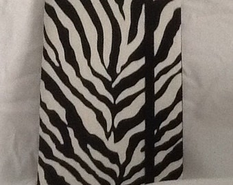 Zebra print Paperback padded Cover