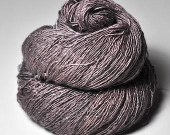 Bleached dead rosewood - Tussah Silk Fingering Yarn