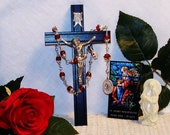 Unbreakable Traditional Catholic Chaplet of St. Mary Magdalene - Patron Saint of Women, Beauticians and Pharmacists