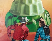 Under A Green Jell-O Sky - Original Collage