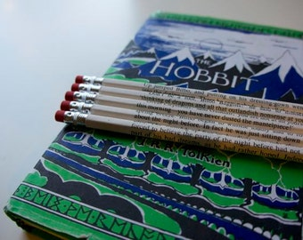 The Hobbit Wrapped Pencil Set