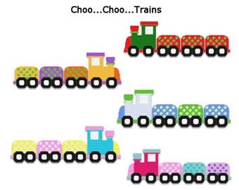 Plastic Canvas Choo...Choo...Trains Wall Hangings  PDF FORMAT Instant Download