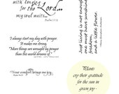 Spring and Scripture - High Res Photoshop Brushes