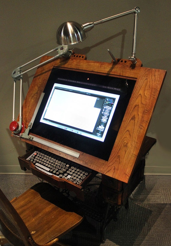 Captivating The Way Back Drawing Machine   Digital Drafting Table Board   Draw On The  Screen With Fully Pressure Sensitivity