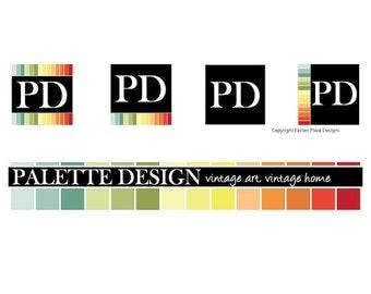 Custom Website Header with Logo