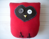 Red and Brown Love Owl