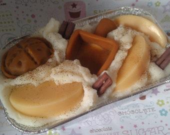 Hot Apple Pie Bakery Flour Scoop Candle