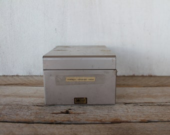 Small Vintage Filing Box