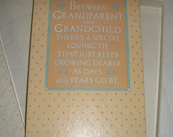 Vintage Hallmark Grandparents Photo Album