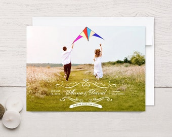 Save the Date Cards Vintage Romance