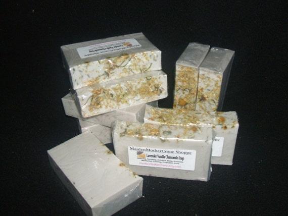 Lavender Vanilla Chamomile Soap Jabon Wicca Pagan Spirituality