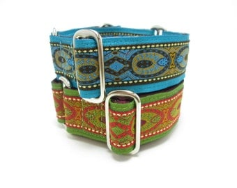 """Houndstown 1.5"""" Renn Wear Nuevo Unlined Martingale Collar Size Small, Medium, or Large"""