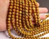 Wood Jasper - 8 mm round beads -1 full strand - 48 beads - RFG594