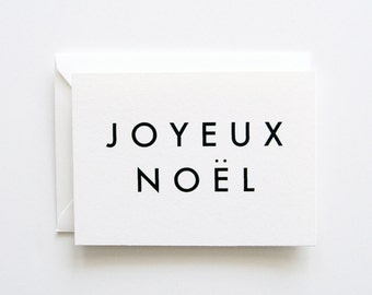 Joyeux Noel - Note Card