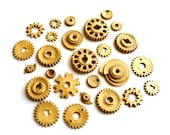 25 Edible Chocolate Candy Gears®   - unique edible embellishments or stand alone candy