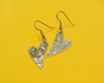 Close to my Silver Heart earrings (Style #259)