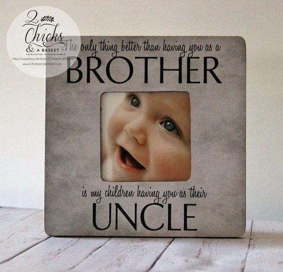 uncle picture frame cottage chic frame fathers day gift