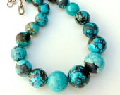 C2104E Chinese Turquoise Necklace - SALE