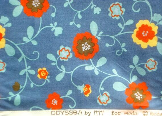 SALE : MoMo Odyssea Penelope ocean blue moda fabrics FQ or more