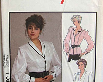Gorgeous Misses' Set of Blouses Style 1179 Sewing Pattern UNCUT Sizes 6-8-10