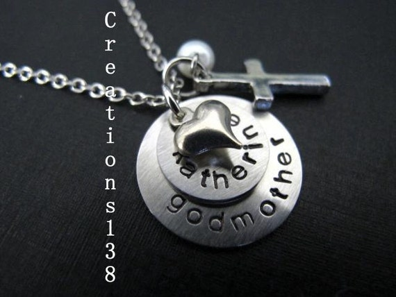 Godmother Gift Godparent Gift Personalized Gift For: Godmother Necklace Godmother Gift Personalized By Creations138