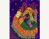 60% Off- Belgian tervuren art dog  Art Print Poster by Heather Galler (HG172)