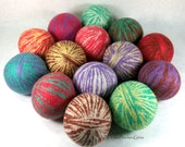 Wool Dryer Balls - May Flowers Mix Up - Set of 14 Eco Friendly Alternative for Dryer Sheets