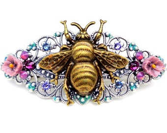 Honey Bee Barrette (med. size)