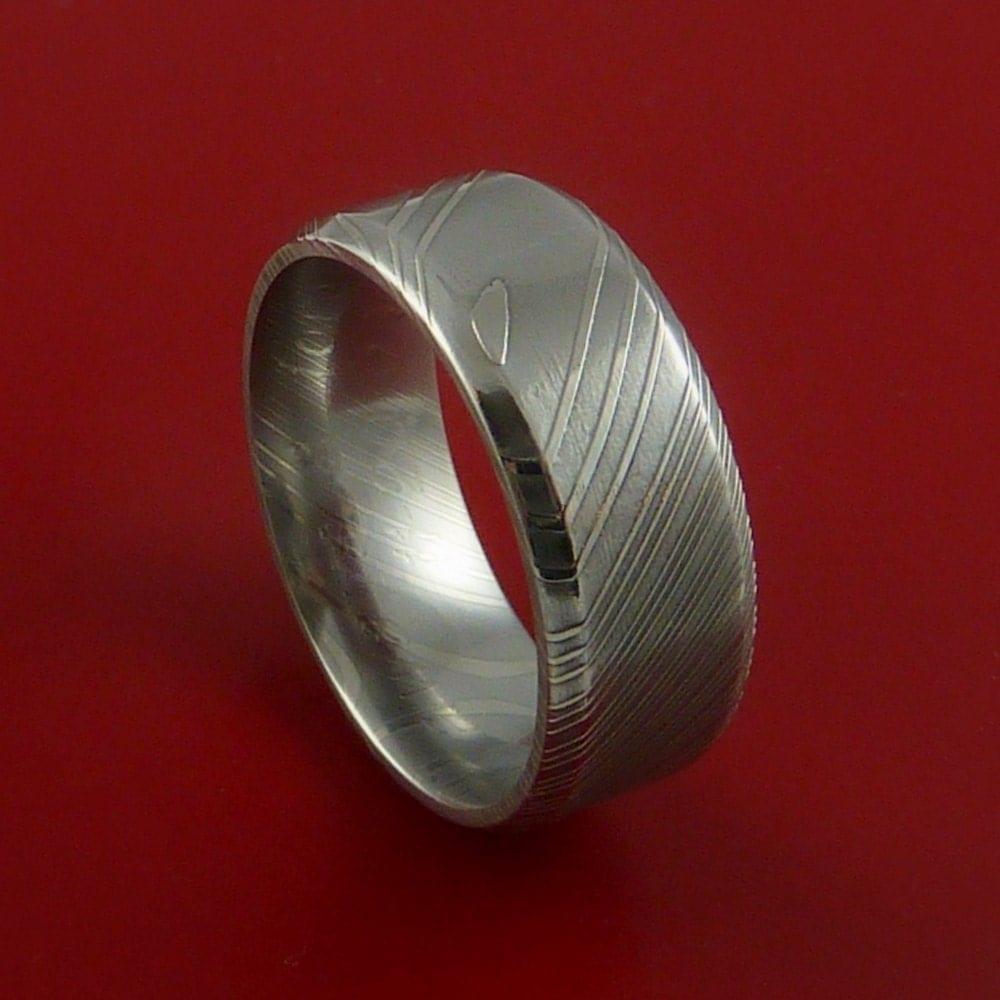 hd wallpapers damascus steel wedding ring