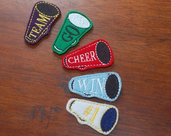 Embroidery Barrette Design - In the hoop