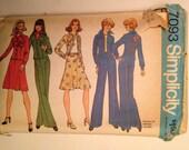 1975 Simplicity Dress, Shirt, Skirt and Pant Pattern