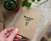 Bucket List Notebook 39 - Mini Pocket Size Traveling Journal for your Inspiration
