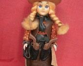 Vintage Cowgirl Doll by Carlson Dolls