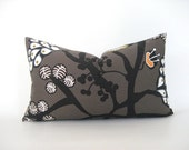 Pillow Cover Swedish Modern Both Sides Lumbar 12 x 18