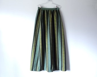 Vintage Hippy Skirt Flower Child Womens Size Small