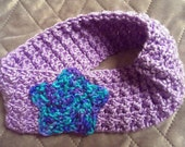 Reserved For Customer Knit Star Headband Crocheted fits Adults and Teens READY TO SHIP