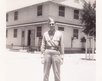 Man in Uniform -  Vintage Photograph (CCC)