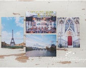 Paris Note Cards | set of 4 eco friendly note cards