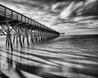 Myrtle Beach, South Carolina - 2nd Ave Pier - Fine Art Photograph 5x7 8x10 11x14 16x20 24x30