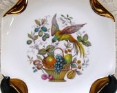 Bird of Paradise - Octagonal Plate - China - Home Decor