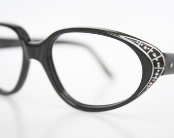 Small Rhinestone Cat Eye Glasses Unused Cat Eye Eyeglasses