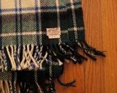 vintage McCalls scottish tartan throw blanket